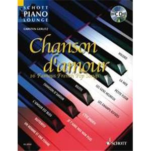 GERLITZ CARSTEN - PIANO LOUNGE COLLECTION CHANSONS D'AMOUR + CD