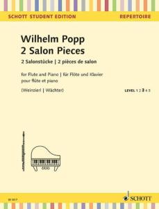 POPP WILHELM - 2 PIECES DE SALON - FLUTE ET PIANO