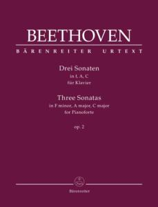 BEETHOVEN - TROIS SONATES OP.2 - PIANO