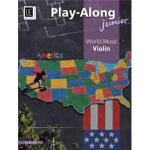 COMPILATION - WORLD MUSIC AMERICA JUNIOR (AMERIQUE) VIOLON/PIANO + CD