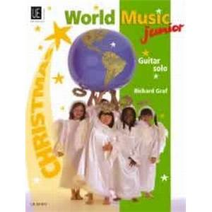 COMPILATION - WORLD MUSIC JUNIOR CHRISTMAS (NOEL) GUITARE