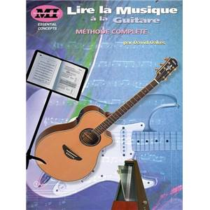 OAKES DAVID - LIRE LA MUSIQUE A LA GUITARE METHODE COMPLETE M.I.