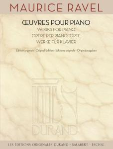 RAVEL MAURICE - OEUVRES POUR PIANO