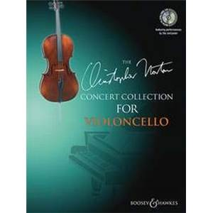 NORTON CHRISTOPHER - CONCERT COLLECTION VIOLONCELLE/PIANO + CD