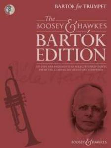 BARTOK BELA - BARTOK FOR TRUMPET +CD - TROMPETTE ET PIANO