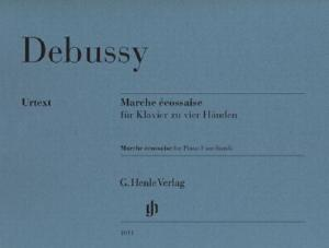 DEBUSSY CLAUDE - MARCHE ECOSSAISE - PIANO 4 MAINS