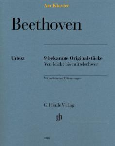 BEETHOVEN LUDWIG VAN - AM KLAVIER (9 PIECES ORIGINALES) - PIANO