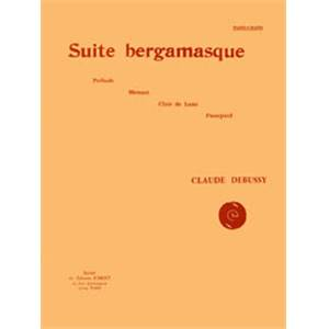 DEBUSSY CLAUDE - SUITE BERGAMASQUE - PIANO A 4 MAINS