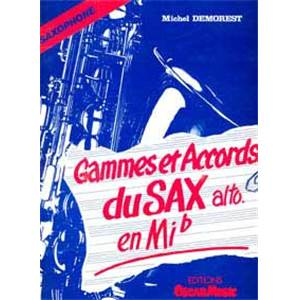 DEMOREST MICHEL - GAMMES ET ACCORDS