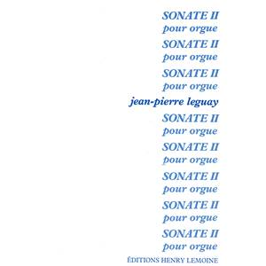 LEGUAY JEAN-PIERRE - SONATE N°2 - ORGUE