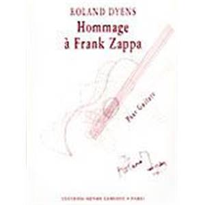 DYENS ROLAND - HOMMAGE A  FRANCK ZAPPA - GUITARE