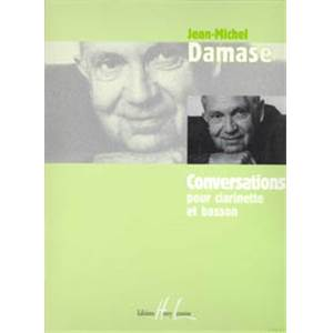DAMASE JEAN-MICHEL - CONVERSATIONS - CLARINETTE ET BASSON