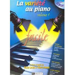 LECLERC M. / MASSON T. - LA VARIETE AU PIANO VOL.1 + CD