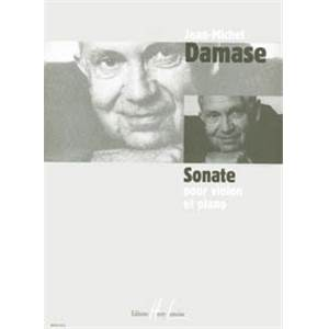 DAMASE JEAN-MICHEL - SONATE POUR VIOLON ET PIANO N°1 - VIOLON ET PIANO