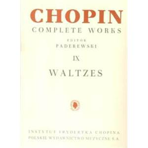 CHOPIN FREDERIC - WALTZES POUR PIANO
