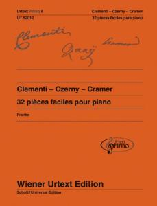 PIECES FACILES VOLUME 6  : CLEMENTI-CZERNY-CRAMER  - PIANO