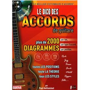 GUILLEMINOT - LE DICO DES ACCORDS GUILLEMINOT + CD