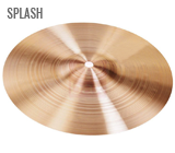 CYMBALES SPLASH