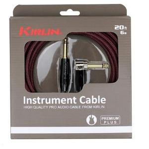 CABLE GUITARE COUDE  KIRLIN PREMIUM 6M  IWB-202 6BR