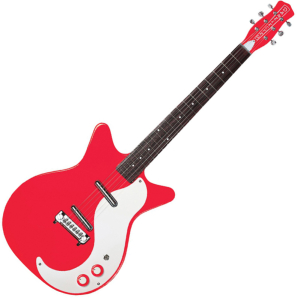 GUITARE ELECTRIQUE DANELECTRO 59 MODIFIED NEW OLD RED