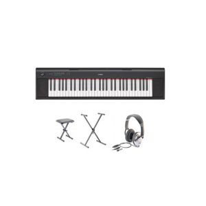 PIANO NUMERIQUE PORTABLE YAMAHA NP-12B PACK