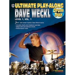WECKL DAVE - ULTIMATE PLAY ALONG LEVEL 1 VOL.1 + CD