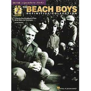 BEACH BOYS - DEFINITIVE COLLECTION SIGNATURE LICKS TAB. + CD