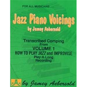 COMPILATION - AEBERSOLD 001 JAZZ PIANO VOICINGS