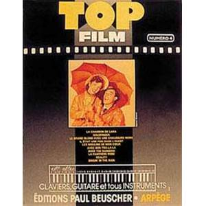 COMPILATION - TOP FILMS VOL.4 PIANO SIMPLIFIE PAROLES ET ACCORDS