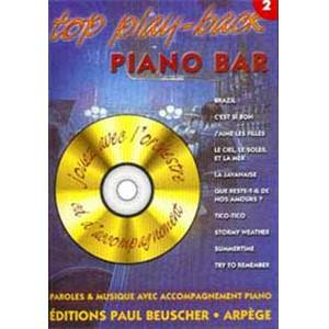 COMPILATION - TOP PIANO BAR VOL.2 + CD