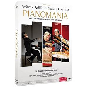 CIBIS/FRANCK - DVD PIANOMANIA UN FILM SUR L'AMOUR, LA PERFECTION ET UNE NOTE DE FOLIE