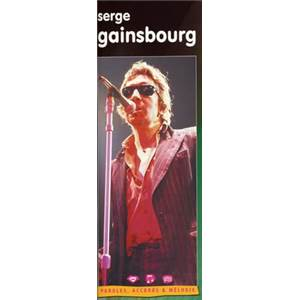 GAINSBOURG SERGE - PAROLES ACCORDS ET MELODIE