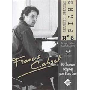 CABREL FRANCIS - SPECIAL PIANO NO.6 + CD