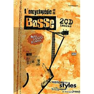 WESTWOOD PAUL - ENCYCLOPEDIE DE LA BASSE + 2CD