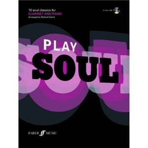 HARRIS RICHARD - PLAY SOUL CLARINET + CD