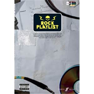 COMPILATION - ROCK PLAYLIST LYRICS AND CHORD BOXES + CD