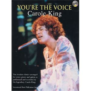 KING CAROLE - YOU'RE THE VOICE + CD