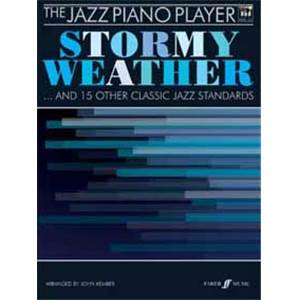 KEMBER JOHN - STORMY WEATHER AND 15 OTHER CLASSIC JAZZ PIANO PLAYER + CD