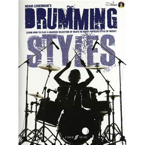LEDERMAN NOAM - DRUMMING STYLES LEARN TO PLAY A MASSIVE SELECTION OF BEATS + CD