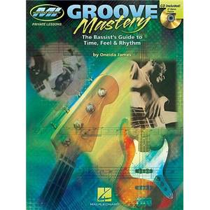ONEIDA JAMES - GROOVE MASTERY BASSIST'S GUIDE TAB. + CD