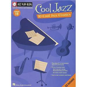 COMPILATION - JAZZ PLAY ALONG VOL.019 COOL JAZZ + CD