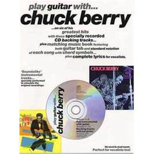 BERRY CHUCK - PLAY GUITAR TAB. + CD