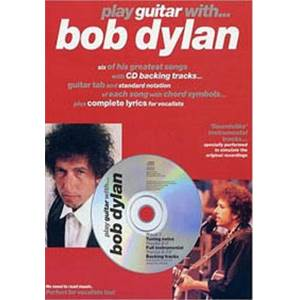 DYLAN BOB - PLAY GUITAR WITH... + CD