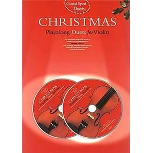COMPILATION - GUEST SPOT CHRISTMAS PLAY ALONG DUETS FOR VIOLIN + 2CDS