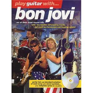 BON JOVI - PLAY GUITAR WITH THE LATER YEARS + CD