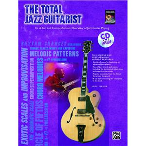 FISHER JODY - TOTAL JAZZ GUITARIST TAB. + CD
