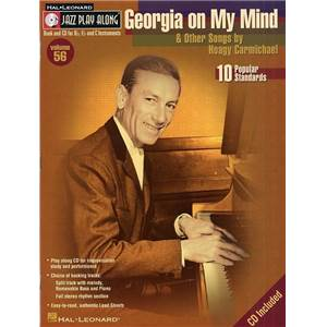 COMPILATION - JAZZ PLAY ALONG VOL.056 HOAGY CARMICHAEL + CD