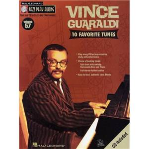 GUARALDI VINCE - JAZZ PLAY ALONG VOL.057 + CD