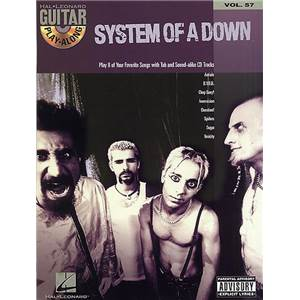 SYSTEM OF A DOWN - GUITAR PLAY ALONG VOL.057 + CD