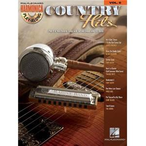 COMPILATION - HARMONICA PLAY ALONG VOL.6 COUNTRY HITS + CD
